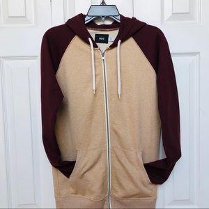Urban Outfitters BDG-dual color sweatshirt hoodie.